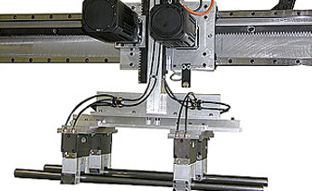 2-Axis CNC Tube Pick & Place Assembly