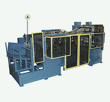 7-Station Automatic End Forming Machine and Automotive HVAC Component