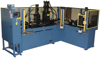 2-station Semi-automated Punching Machine for Automotive Steering Column