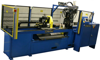 Automatic CNC Tube Punching Machine